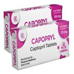 Captopril Tablets 25mg/50mg