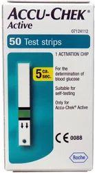 Accu Chek Active Glucometer Strips 50T
