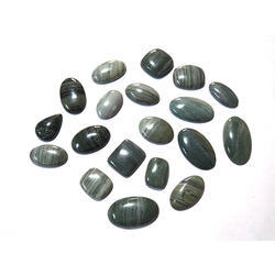 Green Jade Gemstone Cabochons