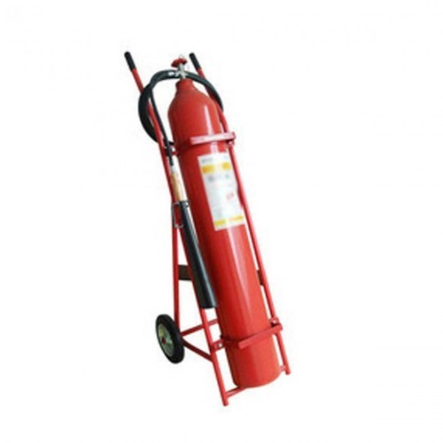 9 Kg CO2 Type Trolley Mounted  Fire Extinguisher