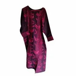 Ladies Full Sleeves Cotton Kurti
