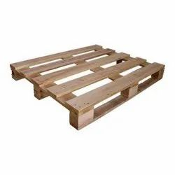 Brown 4 Way Shipping Wooden Pallet, Capacity: 250-300 Kg