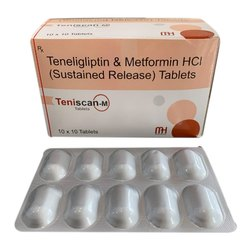 Teneligliptin and Metformin HCI Tablets