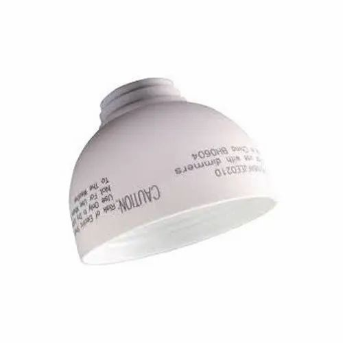 Laser Fiber Marking On LED Bulb Cap