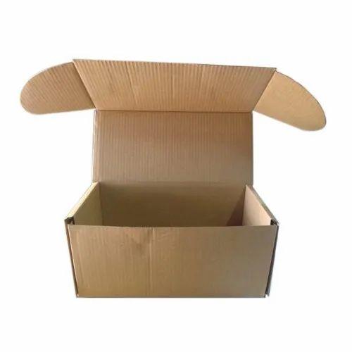Brown Corrugated Ply Box