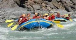 Riverside Camping Plus Rafting Plus Bungee Tour Package Service