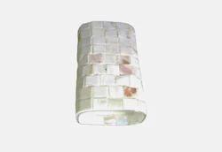 Warm White Glass Wall Lamp 220-240V, 10W