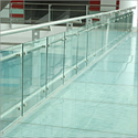 Toughened Glass Railing