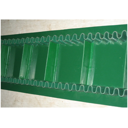 Ultrasonically Welded Sidewall Cleated PVC Conveyor Belt