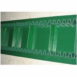 Ultrasonically Welded Sidewall Cleated PVC Conveyor Belt