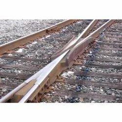 Cast Manganese Steel Railway Line CMS Crossing
