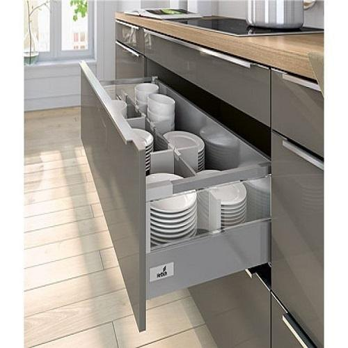Modern Stainless Steel Modular Kitchen Drawer Size 15 20 Inch Rs 1700 Square Feet Id 21543238333
