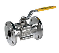 S.S. Ball Valves 3pc Design Flange end