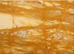 Polished Finish Giallo Siena Marble, Thickness: 15-20 Mm