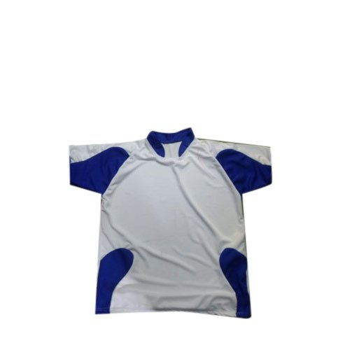 Polyester Half Sleeves Sports T Shirt, Packaging Type: Packet