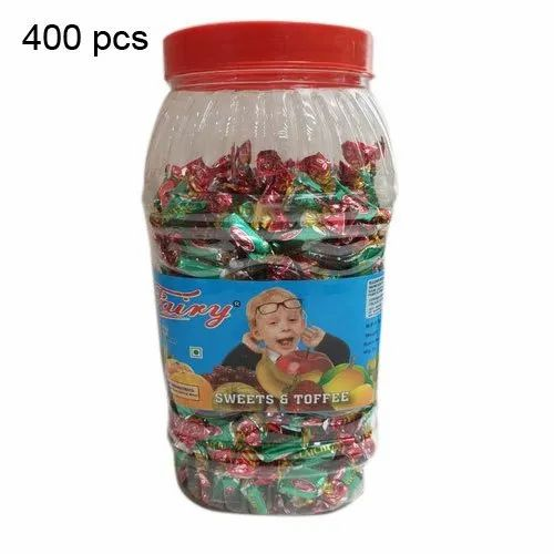 Fairy 9 Months 400 Pieces Sweet And Toffee, Packaging Type: Plastic Jar