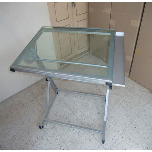 Tempered Glass Drafting Table