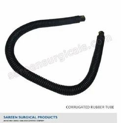 Corrugated Tube Black Rubber