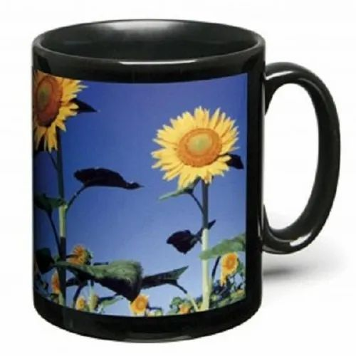 Sublimation Ceramic Printed Coffee Mug, Shape: Patch Mug, Packaging Type: Box