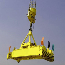 Yellow Hydraulic Rotating Container Spreader
