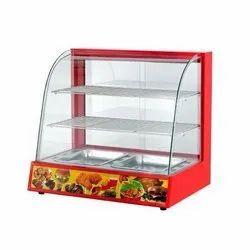 Ecoline 0.84kW Food Display Warmer, Capacity: 2 Shelf, Size/Dimension: 660*480*630mm