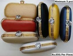Designer Box Clutch Bag