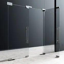 Ozone Plain Toughened Glass Door, Thickness: 10-12 Mm