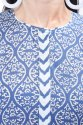 Hand Block Print Designer Dress Kurti Palazzo Set