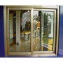Anodized Aluminum Sliding Window