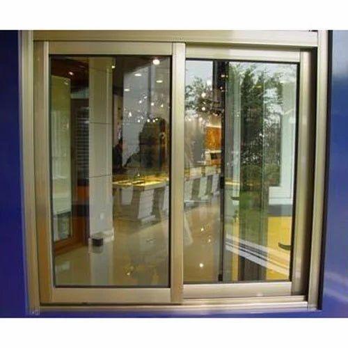 Anodized Aluminum Sliding Window Aluminium Domal Window