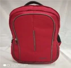 Red Polyester Bata School Bag