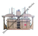 Double Box And Double Cylinder Baling Machine
