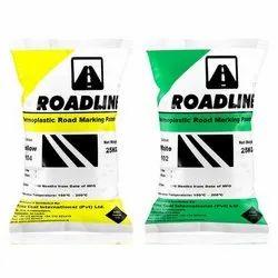 Yellow 104 Roadline Thermoplastic Road Marking Paint, 25 Kg, Packaging Type: Bag