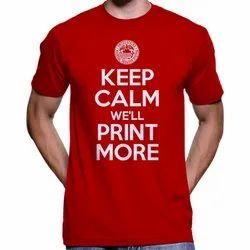 Round Half Sleeve T-Shirt Printing In Ernakulam, Cochin, Vytillla Pdlprint, Designing