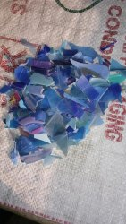 Blue Plastic A1 PP Scrap