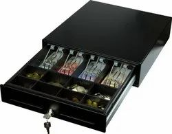 Fully Automatic Cash Drawers, For Restaurant, Dimensions: 485(L)X475(W)X165(H)