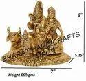 Golden Plated Shiv Pariwar
