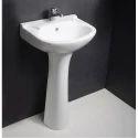 Hindware Alto Full Pedestal Wash Basin