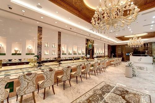 Jewellery Showroom Interior Designing