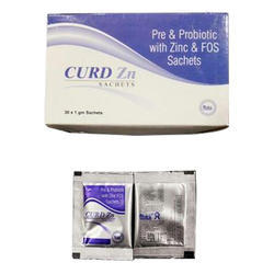 Pre and Probiotic with Zinc and FOS Sachets