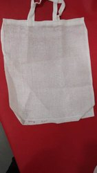 Plain Handled Cotton carry bags, Number Of Straps: 2, Bag Size: 10*12