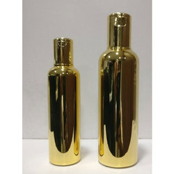 Gold Metalized Bottle