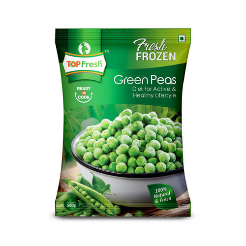 Frozen Food Packing Bags - Peas Packaging Bags Manufacturer from Delhi