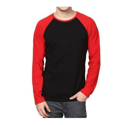 Mens Full Sleeve Round Neck T Shirt 69df7473b
