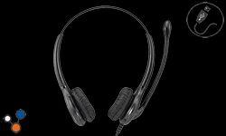 Binaural Noise Cancelling USB Headset
