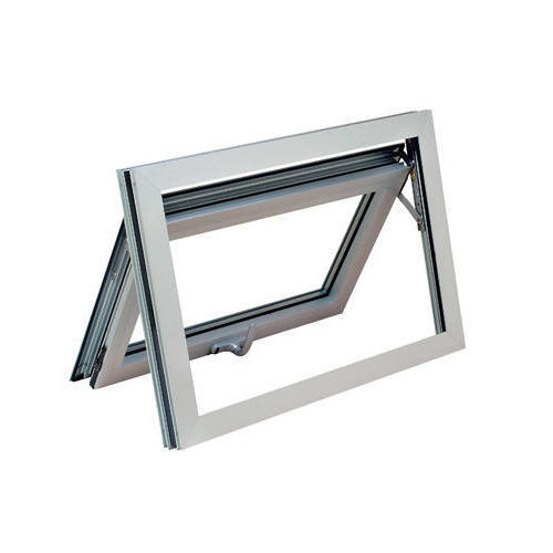 White Aluminum Awning Window Rs 280 Square Feet Dashmesh International Id 16923368591