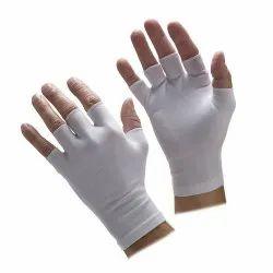 Lycra Half Finger Gloves