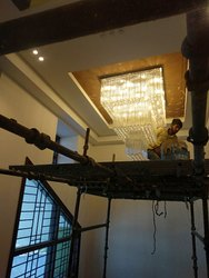 Hotel Lobby Asfour Crystal Chandelier
