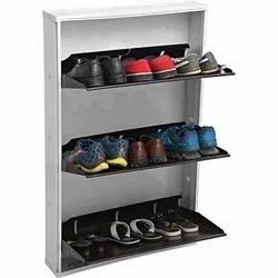 3 Compartment Shoe Rack