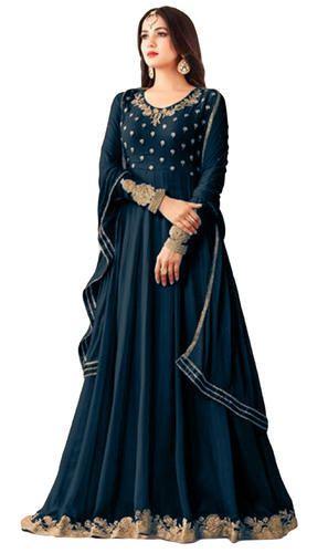 e2c15d303056 Women  s Party Wear Georgette Anarkali Suit